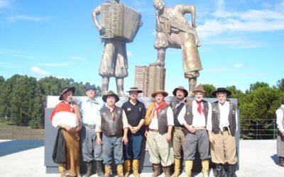 Cavalgada Inauguração do Monumento aos Irmãos Bertussi – Caxias do Sul – 2008