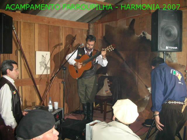 Acampamento no Parque da Harmonia – 2007