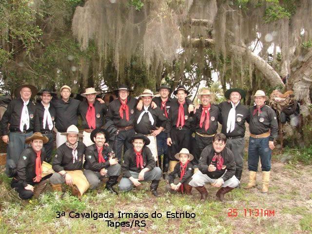 3ª Cavalgada dos Irmãos do Estribo -Tapes – 2008