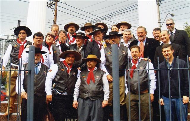 Inauguração do Monumento em homenagem a Maçonaria Unida do RS – 20 de agosto 2009
