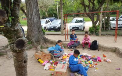 Ação Social Fraternidade Gaúcha e Fundação São João na Escola Nehyta Martins Ramos